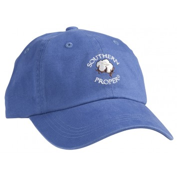 Cotton Boll Hat - Blue